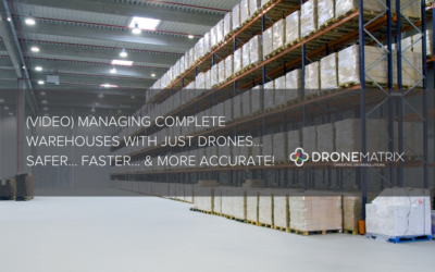 (VIDEO) Managing complete warehouses with just drones