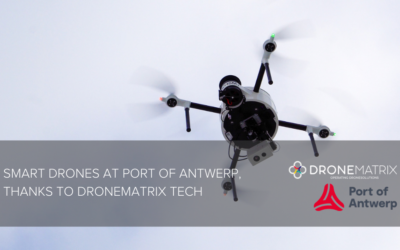 (VIDEO) Smart Port of Antwerp, thanks to DroneMatrix technology